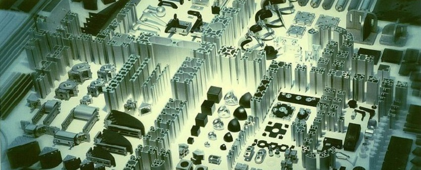 Hliníkový, stavebnicový, konstrukční systém