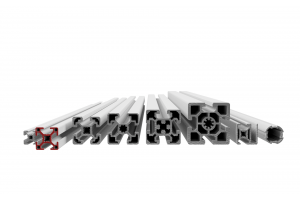 Stavebnicový profil s drážkou 8 mm v rozměrové řadě 30 mm