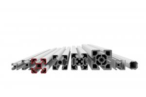 Stavebnicový profil s drážkou 10 mm v rozměrové řadě 40 mm