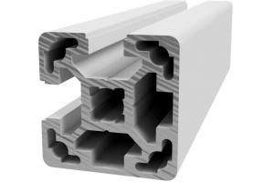 Hliníkový, konstrukční profil 40x40L 2NVS s 2x drážkou 10 mm a 2x zakrytou drážkou přes roh; 993189