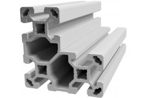 Hliníkový, konstrukční profil 40x80x80L s drážkou; 993193