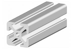 Hliníkový profil 30x30 s drážkou 6 mm