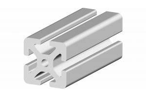 Hliníkový profil 40x40 s drážkou 8 mm