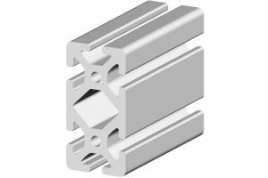 Hliníkový profil 80x40 s drážkou 8 mm