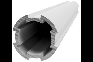 Hliníková, konstrukční trubka ES D28L; 996191
