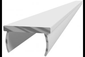 Hliníkový, krycí profil drážky N10Al; 523258
