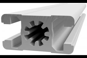 Hliníkový, konstrukční profil 22,5x45 s drážkou; 990292
