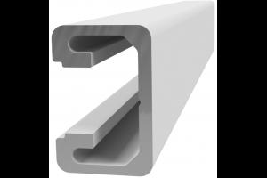 Hliníkový, konstrukční profil 15x22,5 lišta s drážkou; 992473