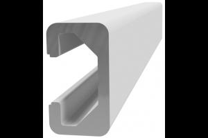 Hliníkový, konstrukční profil lišta 11x20 s drážkou; 992476