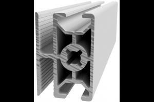 Hliníkový, konstrukční profil 30x45 WG45 pro oplocení s drážkou pro žebérkové pletivo; 992973