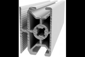 Hliníkový, konstrukční profil 30x45 WG30 pro oplocení s drážkou pro žebérkové pletivo; 992971