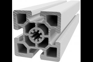 Hliníkový, konstrukční profil 60x60 těžký s drážkou; 990350