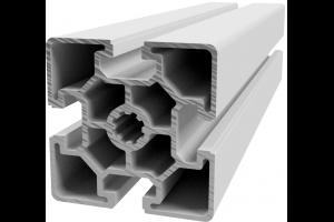Hliníkový, konstrukční profil 60x60L lehký s drážkou; 992443