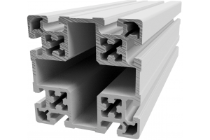 Hliníkový, konstrukční profil 100x100L s drážkou; 993171