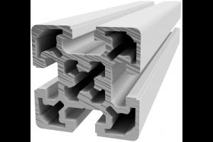 Hliníkový, konstrukční profil 50x50L s drážkou; 993156