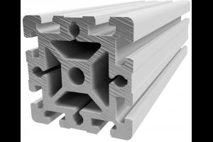 Hliníkový, konstrukční profil 90x90  s drážkou; 990500