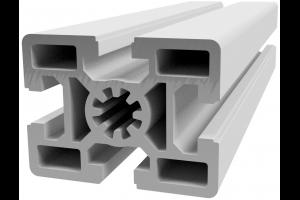 Hliníkový, konstrukční profil 45x60 s drážkou; 990570