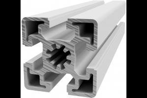 Hliníkový, konstrukční profil 45x45 těžký s drážkou; 990520