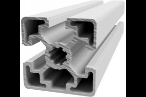 Hliníkový, konstrukční profil 45x45L 3N s 3x drážkou a 1x zakrytou drážkou; 992404
