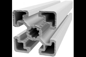 Hliníkový, konstrukční profil 45x45L lehký s drážkou; 992425