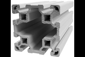 Hliníkový, konstrukční profil 80x80L s drážkou; 993130