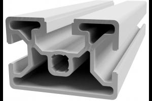 Hliníkový, konstrukční profil 30x45 s drážkou 2x8 mm a 1x10 mm; 992430
