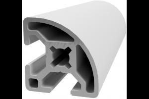 Hliníkový, konstrukční profil 30x30 R s drážkou a vnějším rádiusem; 992896