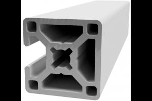 Hliníkový profil 30x30 s 1x drážkou 8 mm a 3x zakrytou drážkou; 992397