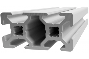 Hliníkový profil 20x40 s drážkou 6 mm; 992891