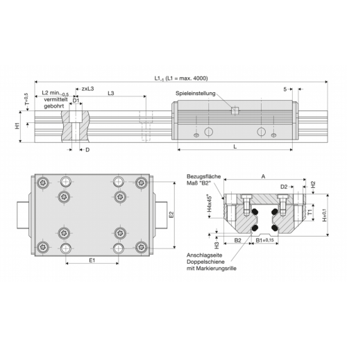 Kolejnice 62636N FDC 45, Řezaný profil