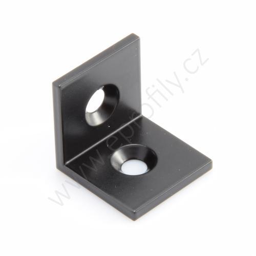 Úhelník Ocel, černý , 30x30, Balení (100ks)