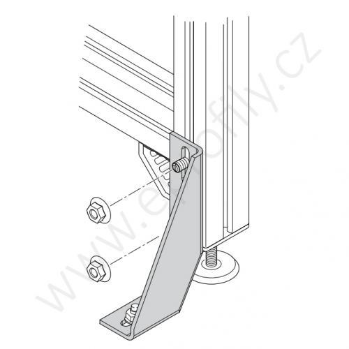 Kotvící úhelník 90° vnější, 3842146815, Kotvící úhelník 160, Balení (10ks)
