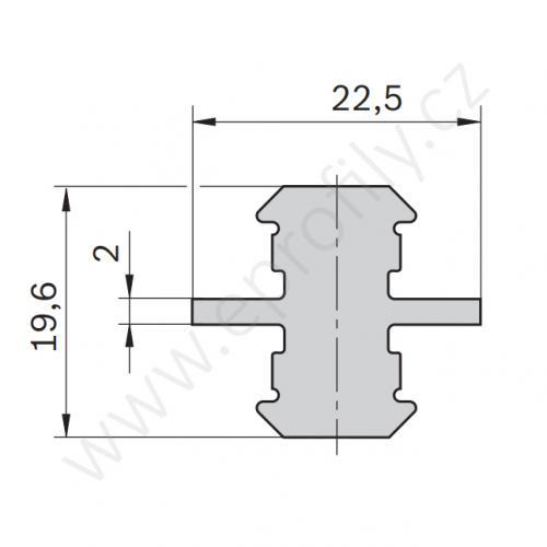 Multifunkční, oboustranný kluzák, 3842513517, N8+N10, Balení (10ks)