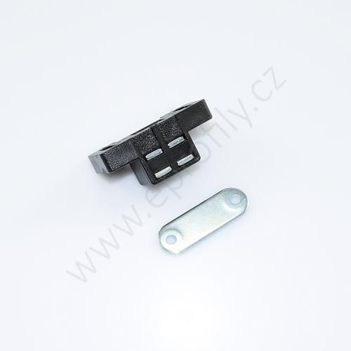 Magnetický zámek do profilu , 3842516165, N8, N10, (1ks)