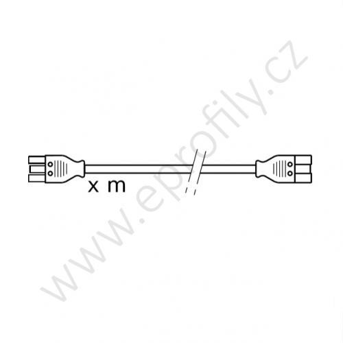 Spojovací kabel, 3842517051, 0,5 m, (1ks)