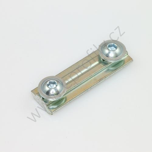 Profilová spojka do drážky, 3842518427, N8-50, Balení (10ks)