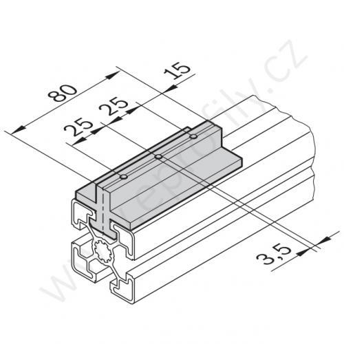 Kluzák středový, 3842523206, N10, (1ks)