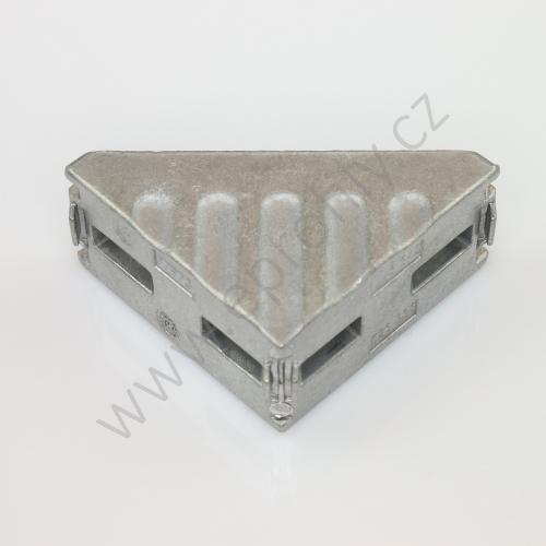 Spojovací úhelník 90° vnější, ESD, 3842523538, 30x60, (1ks)