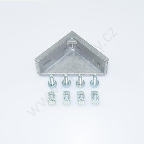 Spojovací úhelník 90° vnější - SET, ESD, 3842523541, 30x60; N8/N8, (1ks)