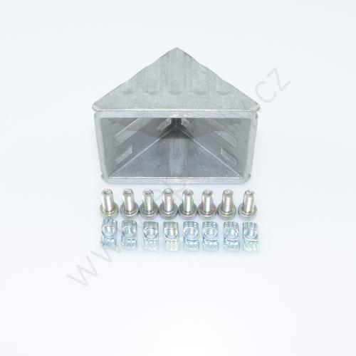 Spojovací úhelník 90° vnější - SET, ESD, 3842523549, 60x60; N8/N8, (1ks)