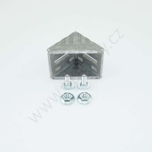 Spojovací úhelník 90° vnější - SET, ESD, 3842523553, 60x60; N10/N10, (1ks)