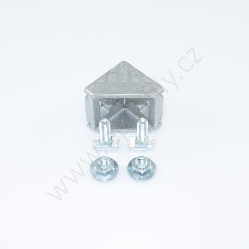 Spojovací úhelník 90° vnější - SET , ESD, 3842523561, 45x45; N10/N10, (1ks)