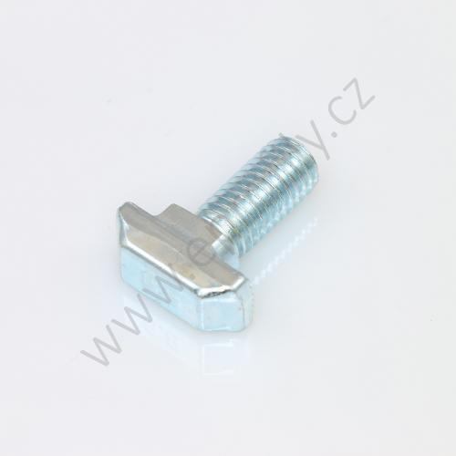 Šroub s T-hlavou do drážky, ESD, 3842528715, N10 M8x20, (1ks)