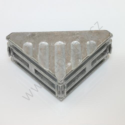 Spojovací úhelník 90° vnější, ESD, 3842529005, 40x80, Balení (20ks)
