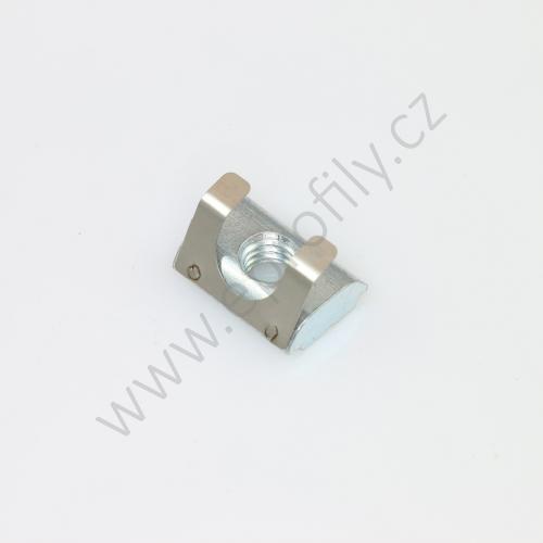 Kámen lehký pro vložení do drážky s pružinou, ESD, 3842529296, N8 M6, Balení (100ks)