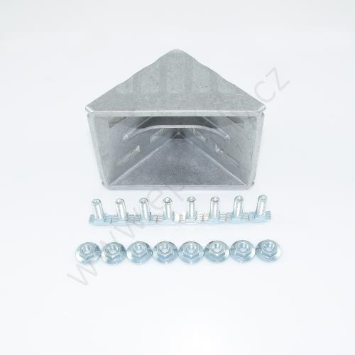 Spojovací úhelník 90° vnější - SET, ESD, 3842530361, 100x100; N10/N10, (1ks)