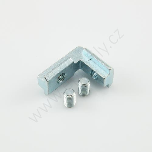 Vnitřní úhelník do drážky, ESD, 3842535572, N10/N10, (1ks)