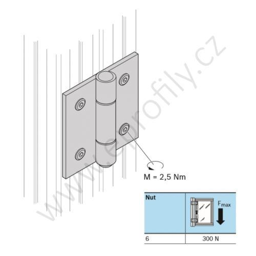 Pant ocelový, ESD, 3842535684, 20x20, Balení (20ks)
