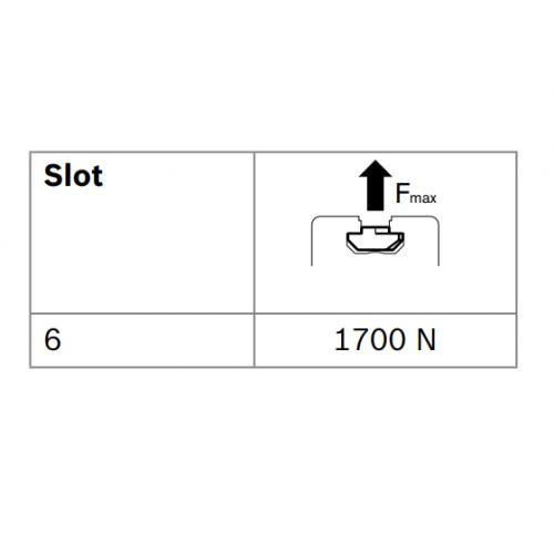 Matice T do drážky - nerez, ESD, 3842536599, N6 M4, Balení (100ks)