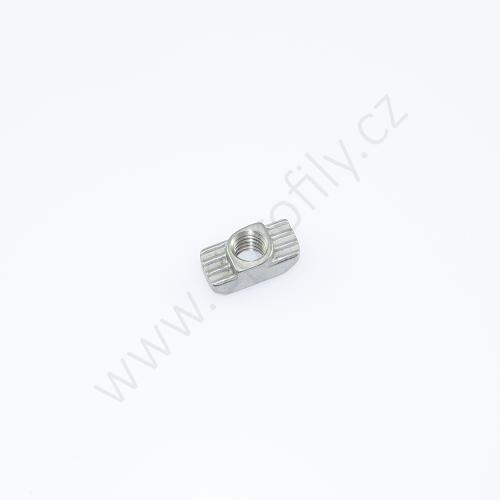 Matice T do drážky - nerez, ESD, 3842536602, N8 M6, Balení (100ks)
